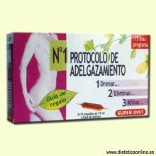 Protocolo nº1 Adelgazamiento - 3x10 ampollas - Super Diet