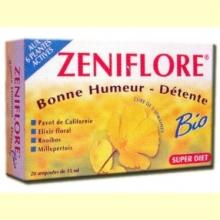 Zeniflore Bio - Serenidad - Super Diet - 20 ampollas