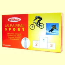 Jalea Real Sport - Integralia - 20 ampollas