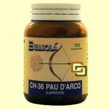 Pau D'Arco - 100 comprimidos - Bellsolá