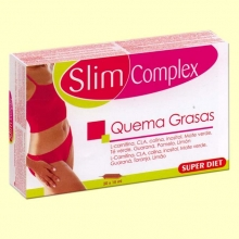 Slim Complex - Quema Grasas - Super Diet - 20 ampollas *