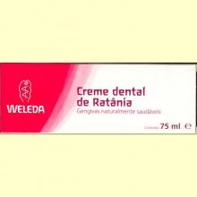 Pasta Dentrifica de Ratania 75 ml de Weleda