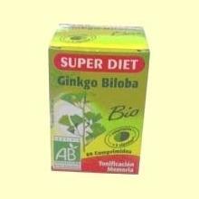 Ginkgo Biloba Bio - Super Diet - 80 comprimidos