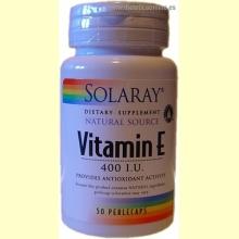 Vitamina E de SOLARAY