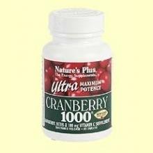 Ultra Cranberry 1000 - Nature's Plus - acción retardada - 60 comprimidos