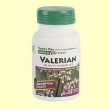 Valerian Root - Raíz de Valeriana - 60 vegicaps - Natures Plus
