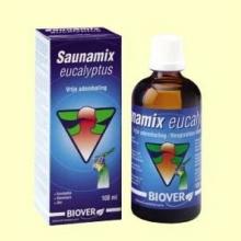 Saunamix Eucalitus - Ayuda para las vías respiratorias - 100 ml - Biover