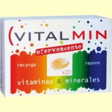 Vitalmin Efervescente Colors - 20 comprimidos - Eladiet