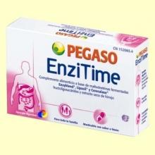 Enzitime - Enzimas Alimentarias - 20 comprimidos - Pegaso