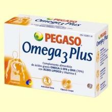 Omega 3 Plus - Pegaso - 40 cápsulas