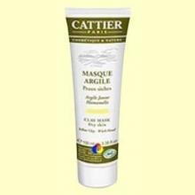 Mascarilla Arcilla Amarilla Bio Pieles Secas - 100 ml - Cattier