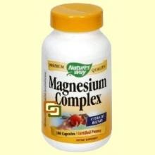 Magnesio 500 mg - 100 cápsulas - Nature's Way