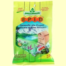 EPID Caramelos Propóleo y Plantas Silvestres - 24 caramelos - Specchiasol
