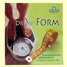 Drenaform - Celulitis - 10 ampollas - Sotya
