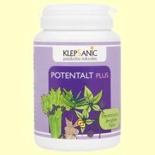 Potentalt Plus - Tónico y Revitalizante - 60 cápsulas - Klepsanic