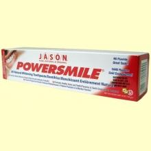 Power Smile - Dentrífico blanqueante natural - 170 gramos - Jason