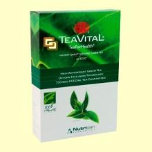 TeaVital - Té Verde - 125 gramos - 100% Natural