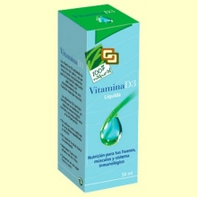 Vitamina D3 Líquida - 50 ml - 100% Natural