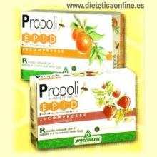 Propolis EPID comprimidos Naranja de Specchiasol