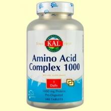 Amino Acid Complex - KAL Laboratorios - 100 comprimidos