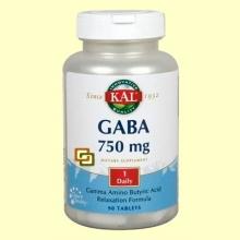 Gaba - 90 tabletas - Laboratorios Kal
