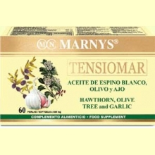 TENSIOMAR - 60 perlas x 500 mg - Sistema circulatorio - Marnys
