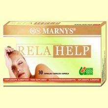 RELAHELP - 30 Cápsulas - Relajante - Marnys