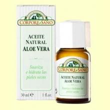 Aceite Natural de Aloe Vera - Corpore Sano - 30 ml