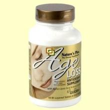 Age Loss - Complejo Antioxidante - 60 cápsulas - Natures's Plus