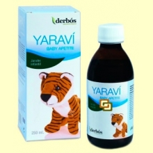 Yaraví Baby Apetite - Jarabe infantil - 250 ml - derbós *