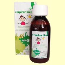 A respirar bien - Jarabe infantil - 150 ml - Soria Natural