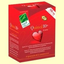 Quinol - Coenzima Q-10 - 60 cápsulas 100 mg de Ubiquinol - 100% Natural