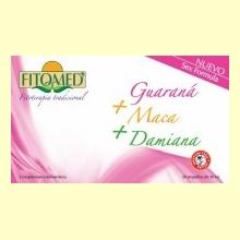 Fitomed Fórmula Sexo - Guaraná + Maca + Damiana - 20 ampollas - Dieticlar