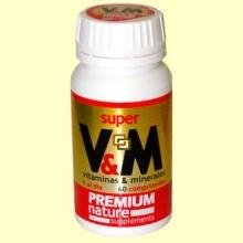 V&M Premium Nature - 60 comprimidos - Pinisan