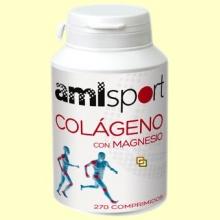 Colágeno con Magnesio - 270 comprimidos - amlsport