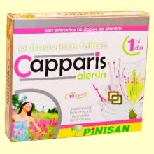 Capparis Alersin - Alergias - 40 cápsulas - Pinisan Laboratorios
