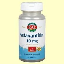 Astaxanthin 10 mg - 60 comprimidos - Laboratorios Kal
