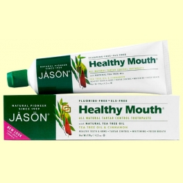 Dentífrico Healthy Mouth - 125 gramos - Jason