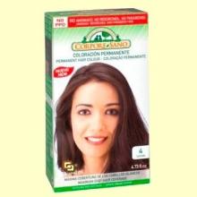Tinte capilar coloración permanente - Color castaño - Corpore Sano - 140 ml