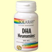 DHA Neuromins 100 mg - Solaray - 30 perlas