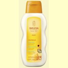 Calendula Baño de Crema Baby - Limpia y cuida suavemente - 200 ml - Weleda