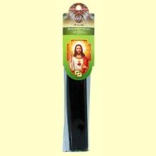 Sagrado Corazón de Jesús - Incienso de Santos - 20 varillas - Samara Import