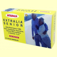 Extralia Senior - Jalea Real 1500 - 20 viales - Integralia