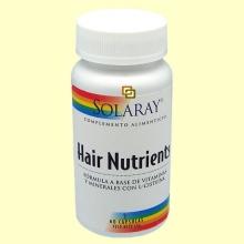 Hair Nutrients - 60 cápsulas - Solaray