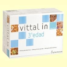 Vittal In 3ª edad - Jalea Real Fresca - 20 ampollas - Plameca