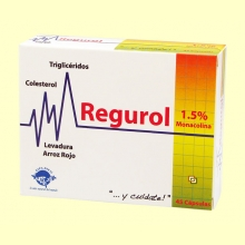Regurol - Colesterol - 45 cápsulas - Espadiet