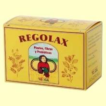 Regolax - Plantas - fibras y probióticos - 50 cápsulas - Tongil