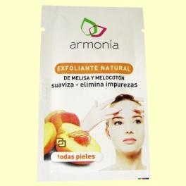 Exfoliante Natural Melisa y Melocotón - 10 gramos - Armonía