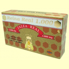 Reina Real 1000 - Jalea Real - 20 ampollas - Robis