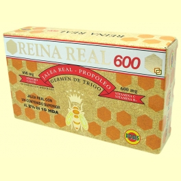 Reina Real 600 - Jalea Real - 20 ampollas - Robis